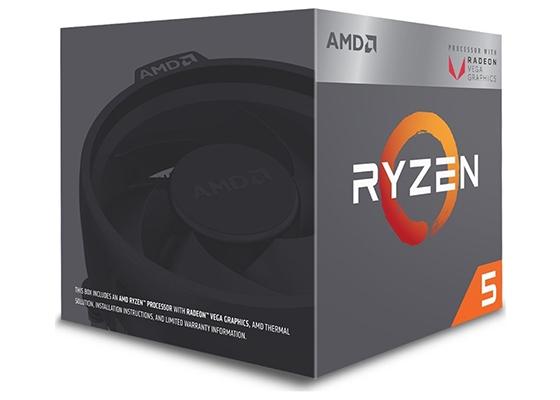 Amd Ryzen 5 2400G Am4 3.6Ghz 6Mb 65W 4 Çekirdek