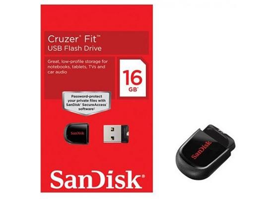 Sandısk 16Gb Cruzer Fıt Sdcz33-016G-B35