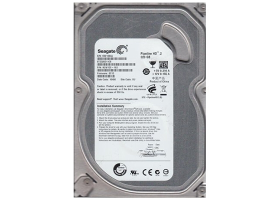 "Seagate Pipeline St3320311Cs 320Gb 3.5"" Hdd"