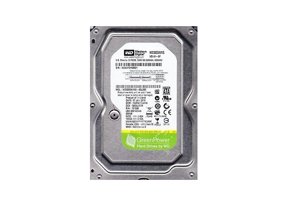 "Wd Av-Gp Wd3200Avvs 320Gb 3.5"" Hdd"