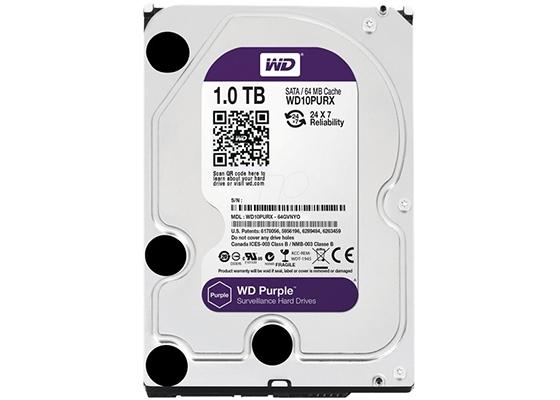 """Wd 1 Tb Purple 3.5"""" 64Mb Sata 3 Wd10Purx"""