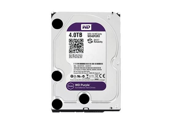 "Western Digital 3.5"" 4 TB Purple WD40PURX SATA 3.0 IntelliPower Hard Disk"