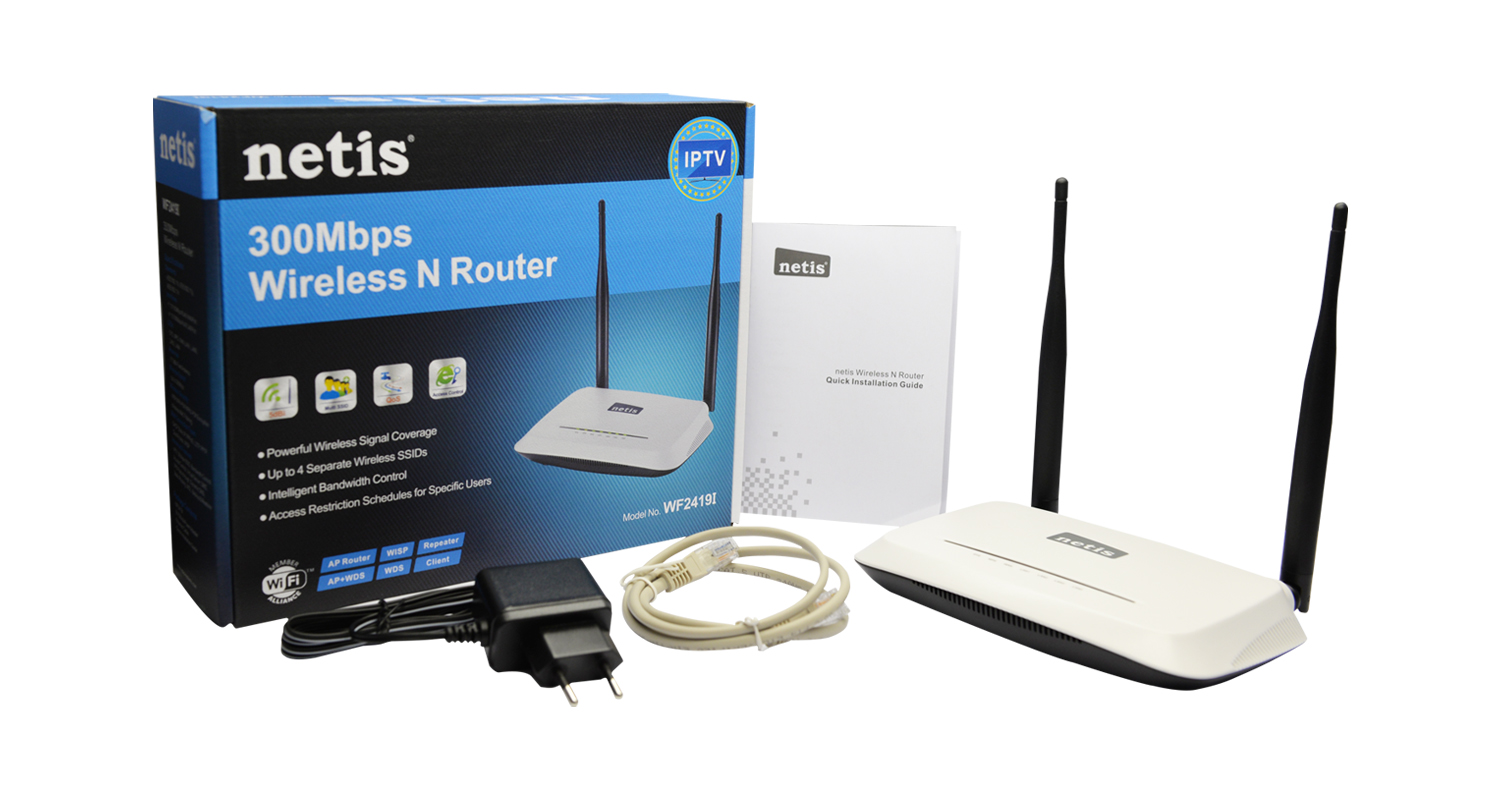 Netis Wf2419I 4 Port 300Mbps Wireless N Access Poi