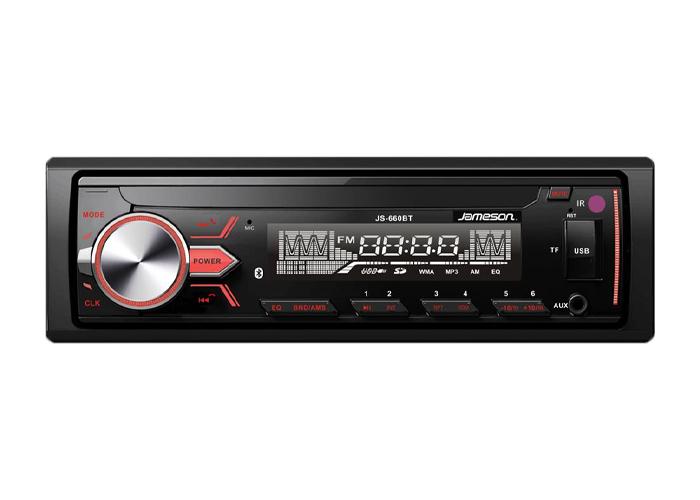 Jameson JS-660BT LCD EKRAN BT USB SD Kart 4x55W High Power Oto Teyp